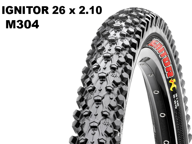 Maxxis Ignitor 26x2.10 M304 Wire 14349 / TB69756500