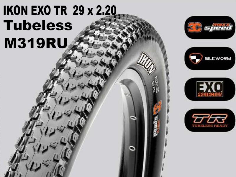 Maxxis Ikon EXO TR 29x2.20 M319RU Foldable