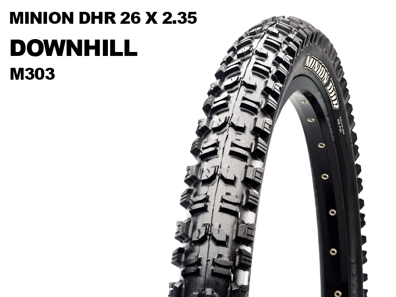 Maxxis Minion DHR 26x2.35 M60 Wire M303