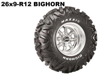 Maxxis ATV 26x9 - R12  Bighorn