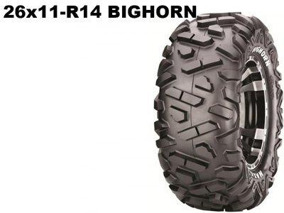 Maxxis ATV 26x11 - R14  Bighorn