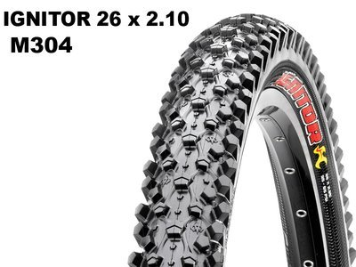 Maxxis Ignitor 26x2.10 M304 Wire
