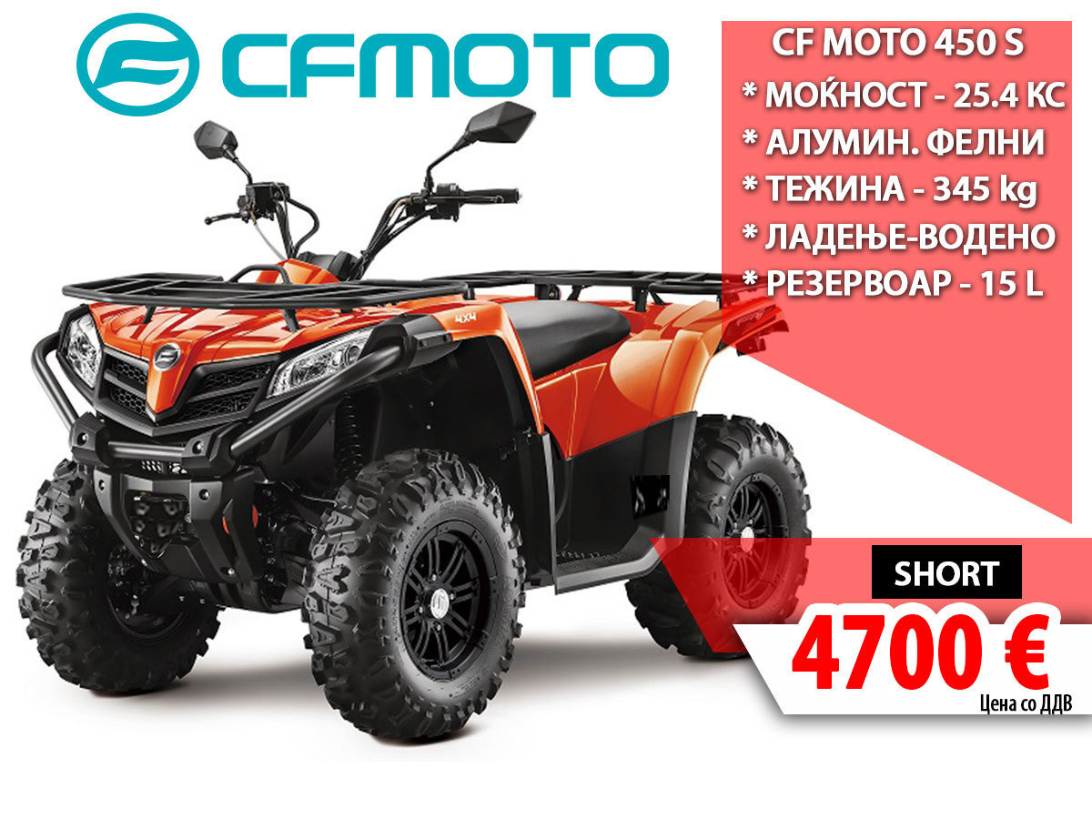 CF MOTO 450 S 14837