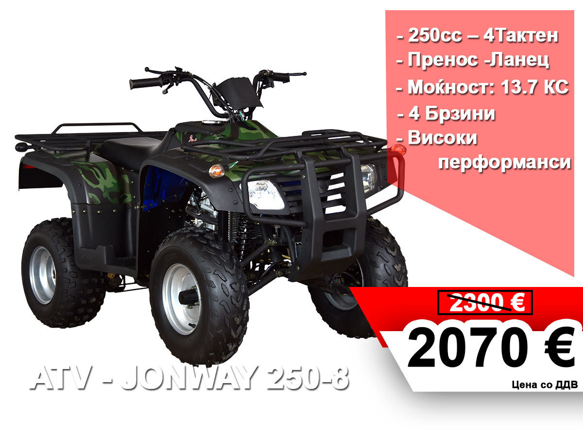 JONWAY ATV 250 - 8 14741