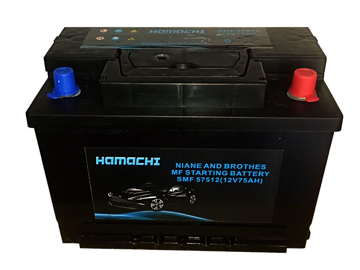Akumulator Hamachi 12V75Ah