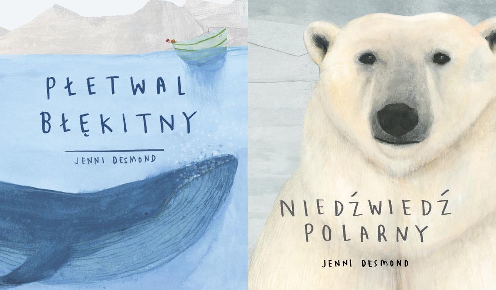 Płetwal błękitny + Niedźwiedź polarny
