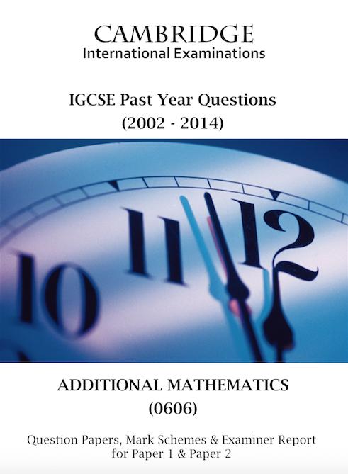 Additional Mathematics 0606