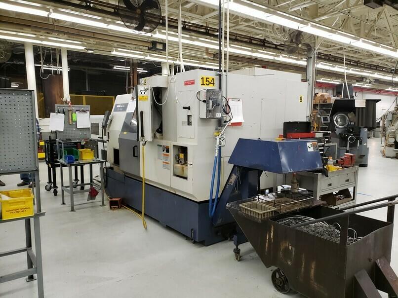 Mori Seiki ZL-150MC CNC Lathe Turning Center For Sale
