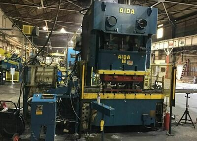 176 Ton Capacity Aida 2-Point Gap Frame Press For Sale