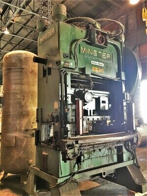 150 Ton Capacity Minster Straight Side Press For Sale