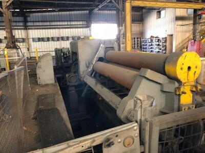 Bertsch Plate Roll For Sale