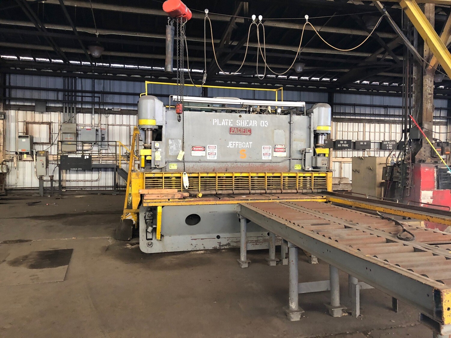 Pacific Shear For Sale