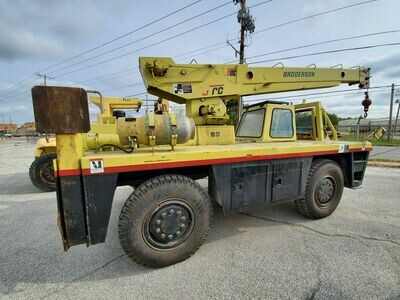 8 Ton Capacity Broderson Mobile Crane For Sale