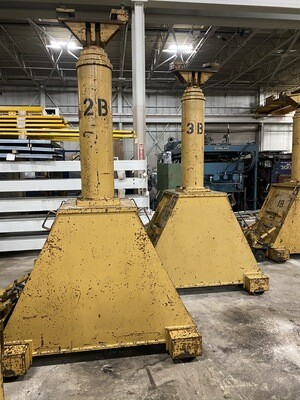 400 Ton Capacity Lift Systems Hydraulic Gantry For Sale