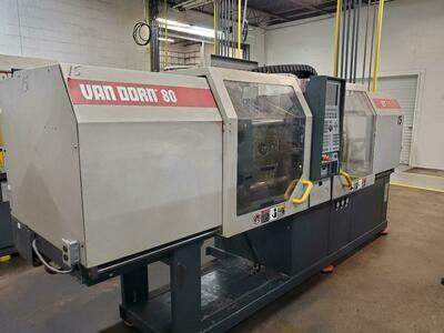 80 Ton Van Dorn Demag Ergotech Systems Plastic Injection Molding Machine For Sale