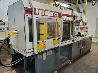 120 Ton Van Dorn Plastic Injection Molding Machine For Sale
