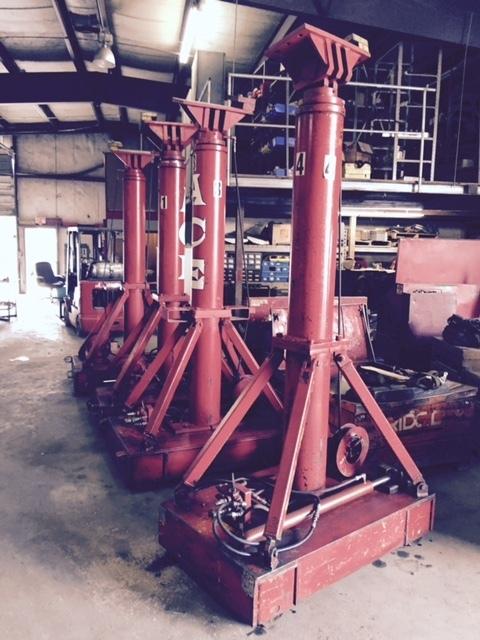 200 Ton Lift Systems Hydraulic Gantry Crane For Sale