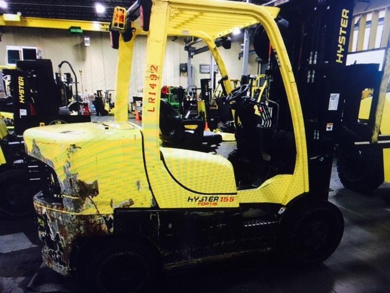 15,500lb Hyster S155 Forklift For Sale