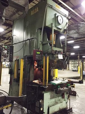 ​220 Ton Capacity Aida Single-Point Gap Press