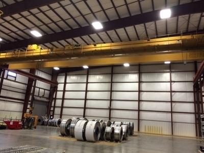 30 Ton P & H Overhead Bridge Crane with 100' Span For Sale
