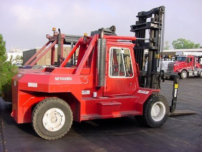 50,000lb Bristol Forklift For Sale 25 Ton