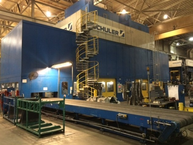 1,800 Ton Capacity Schuler Straight Side Presses For Sale (2 Available) 1800tCapSchulerSSPressesFS
