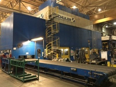 1,800 Ton Capacity Schuler Straight Side Presses For Sale (2 Available)