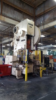 150 Ton Capacity Clearing O.B.I. Press For Sale