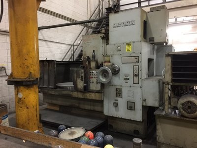 42″ Mattison Rotary Surface Grinder For Sale