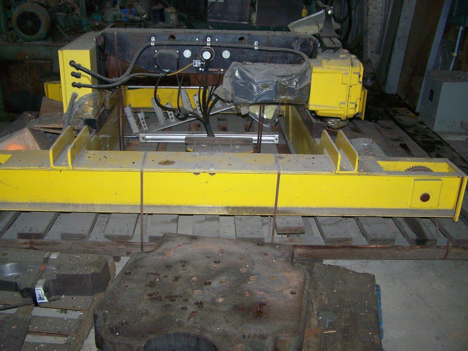 15 Ton Capacity R & M Overhead Bridge Crane For Sale 15tRandOBCFS