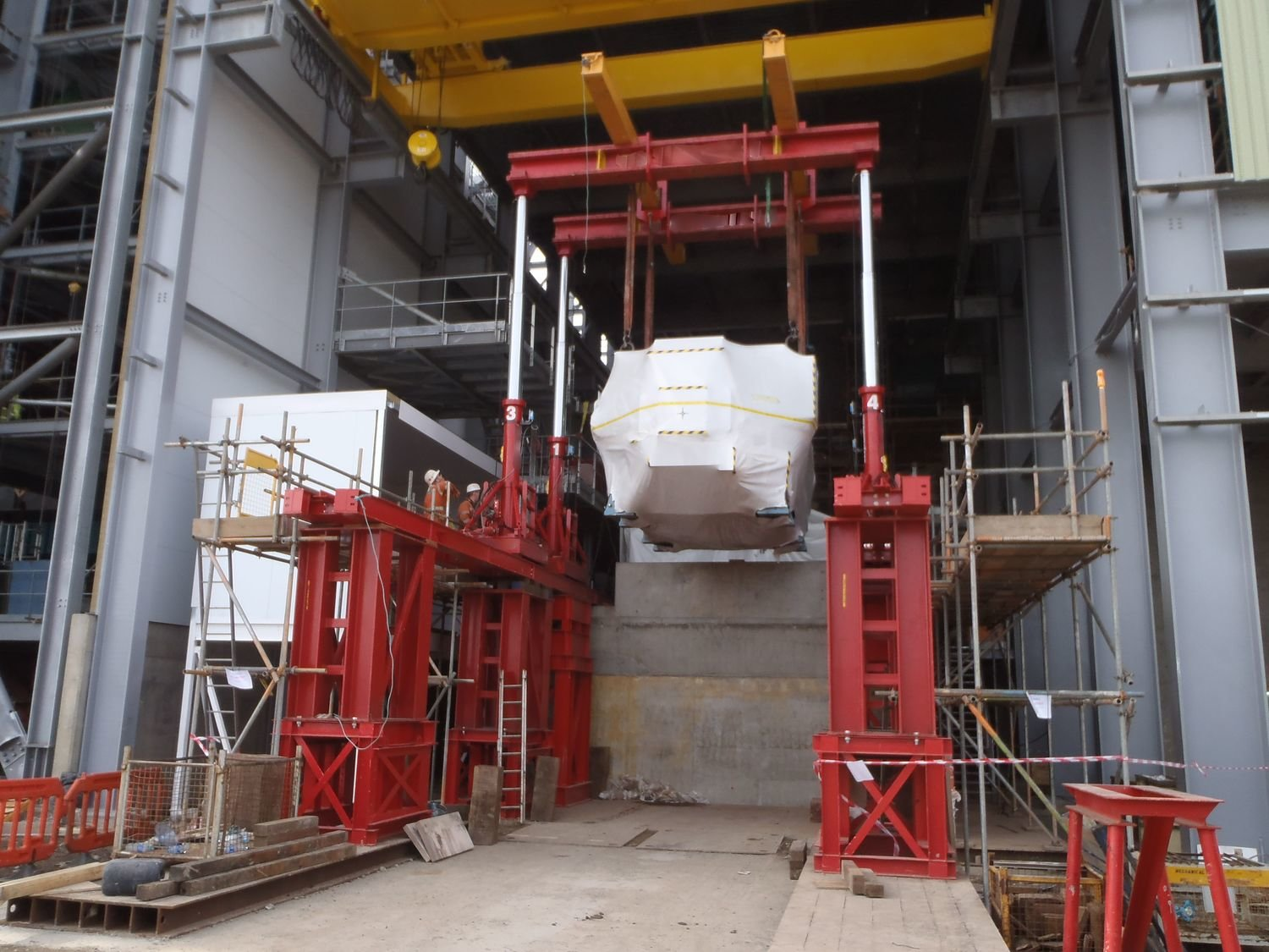 300 Ton Capacity Lift Systems Hydraulic Gantry For Sale