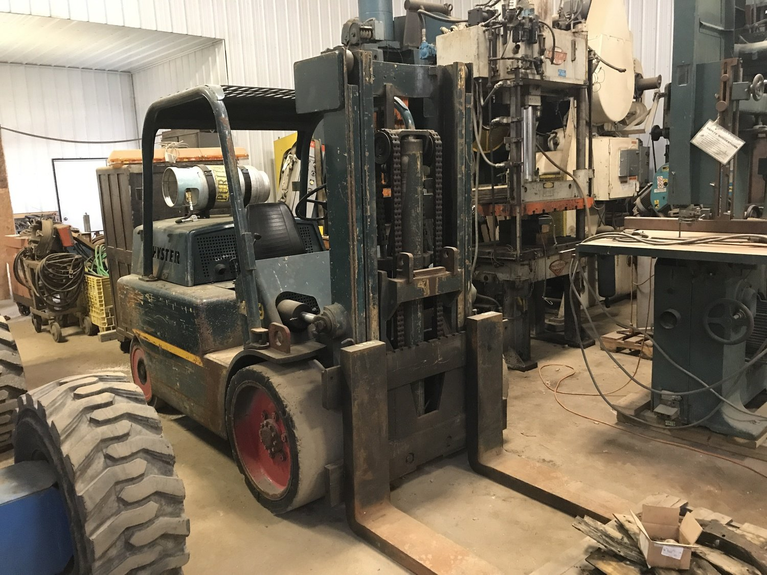 15,000lb S150 Hyster Forklift For Sale 7.5 Ton