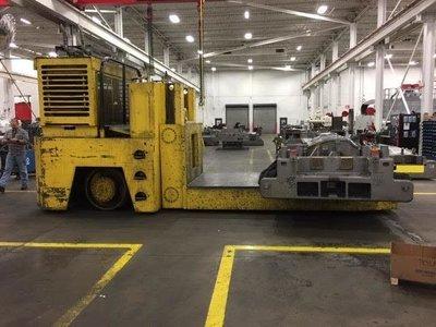 130,000lb. Capacity Erickson Die Truck For Sale