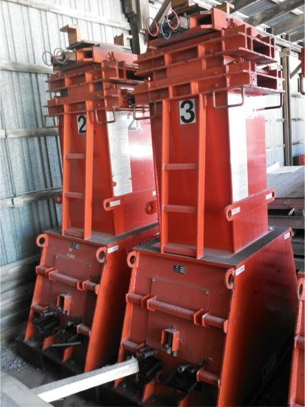 500 Ton Capacity Lift Systems Hydraulic Gantry For Sale