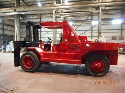 ​80,000lb. Capacity Bristol Riggers Special Forklift For Sale