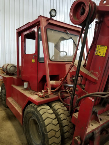 15,000lb Taylor Forklift For Sale Air-Tire