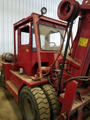 15,000lb. Capacity Taylor Air-Tire Forklift For Sale