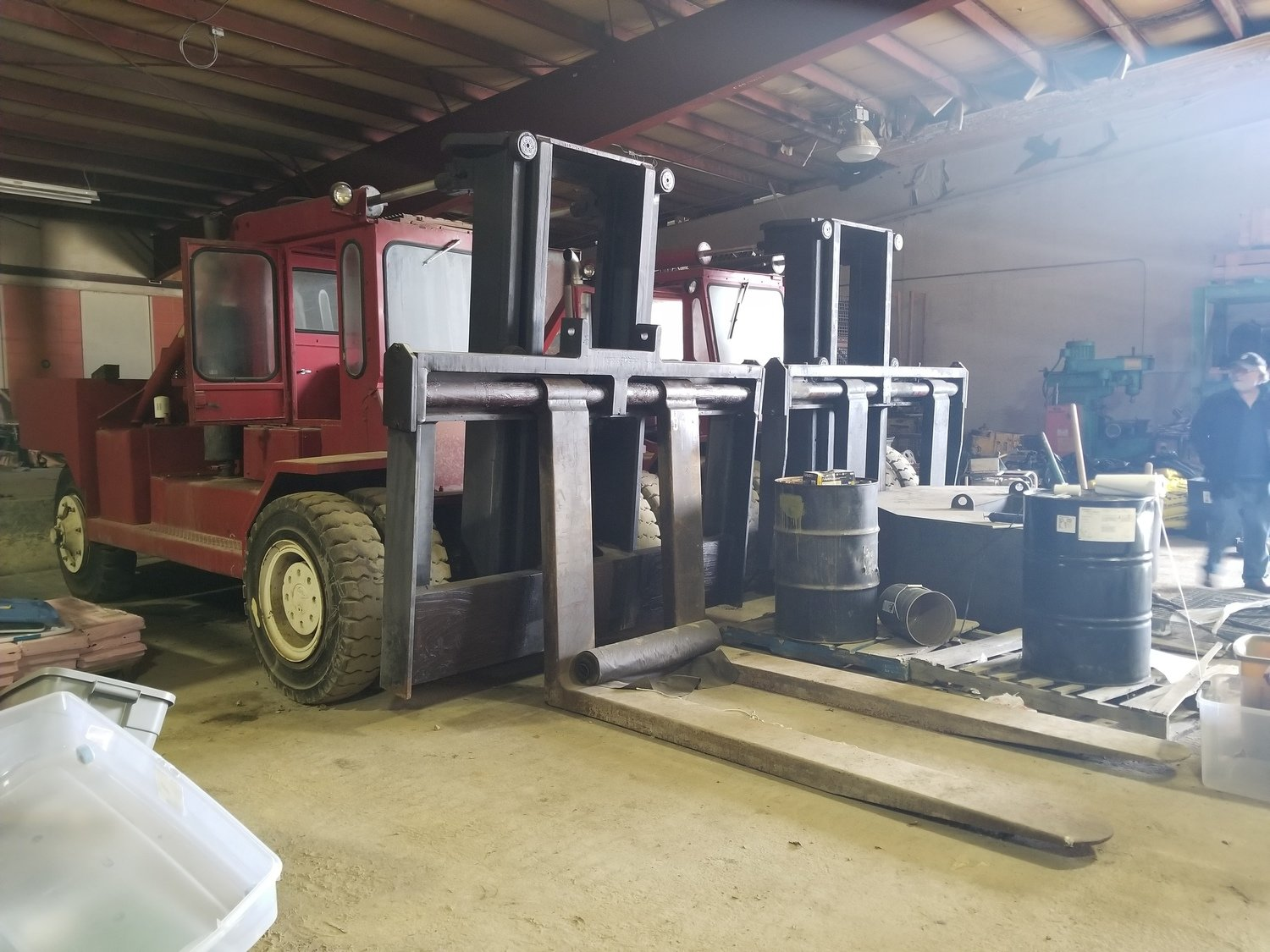 80,000lb Forklifts For Sale (Two Available)