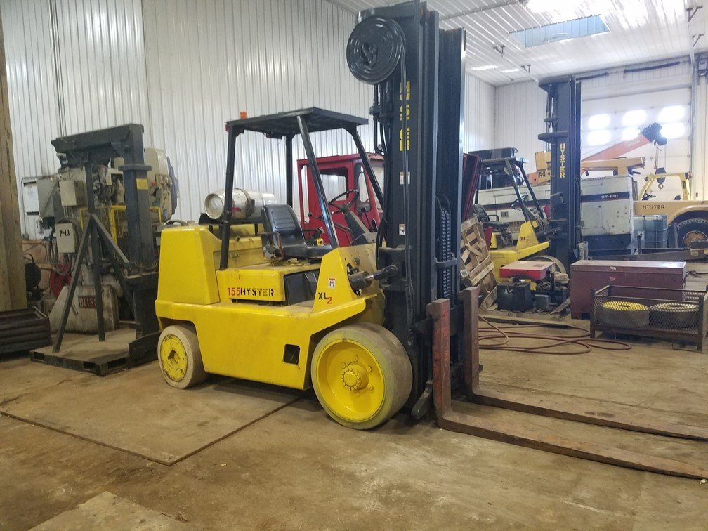 15,500lb Hyster Forklift S155XL2 For Sale