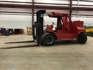 80,000lb. Capacity Bristol Riggers Special Forklift For Sale