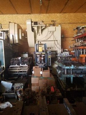​100 Ton Capacity Minster Press For Sale