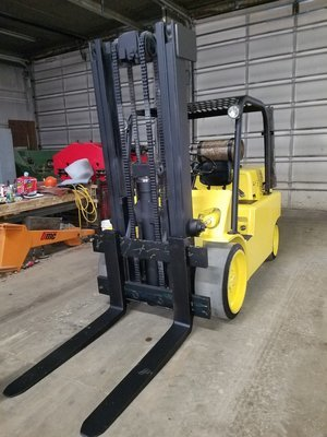 15,000lb Hyster S150 Forklift For Sale 7.5 Ton