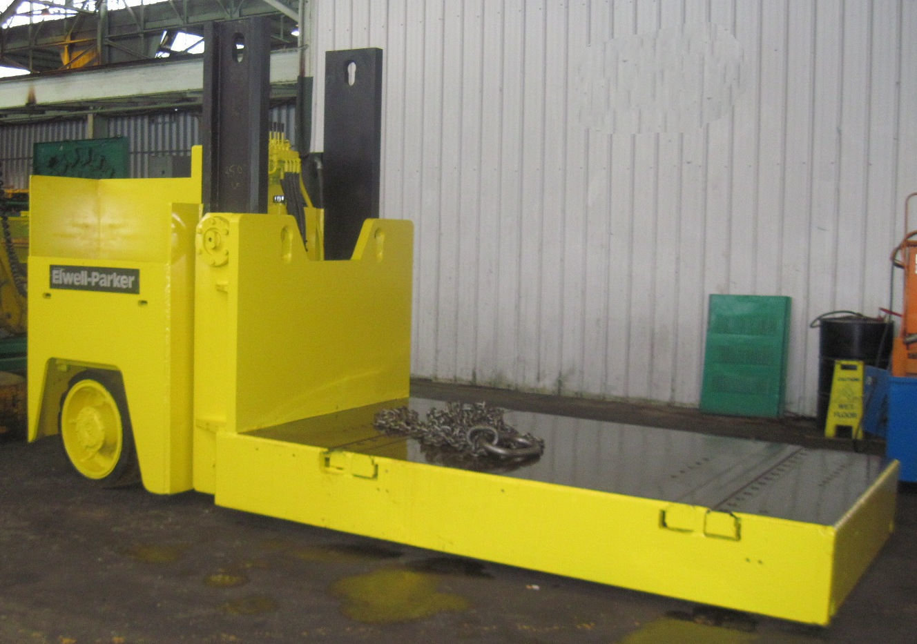 30,000lb. Elwell Parker Hydraulic Die Cart For Sale