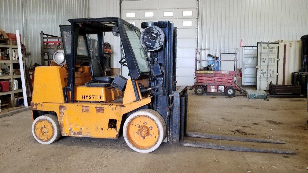 15,500lb Hyster Forklift For Sale