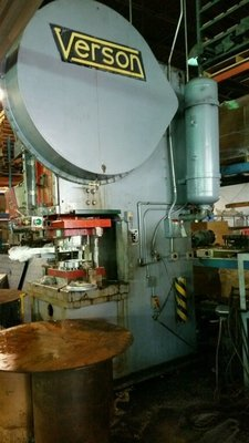 150 Ton Capacity Verson OBG Press For Sale