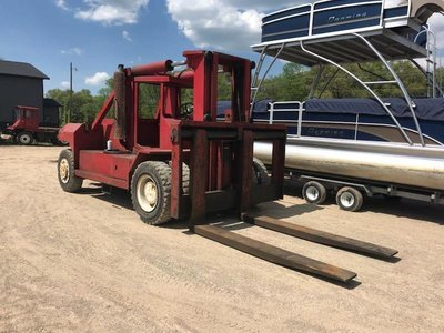 80,000lb Bristol Forklift For Sale 40 Ton