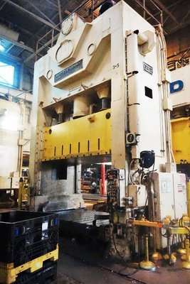 600 Ton USI Clearing Press For Sale