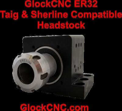 Sherline Taig Spindle Upgrade ER32 Collet Headstock