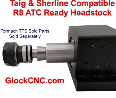 Sherline-Taig R8 Spindle Upgrade Headstock