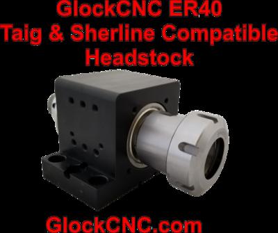 Sherline Taig Spindle Upgrade ER40 Collet Headstock